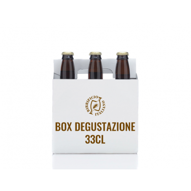 Box degustazione 33cl
