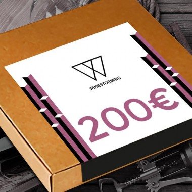 Gift Card Wine 200